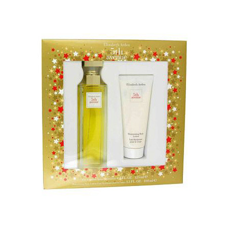 5TH AVENUE by Elizabeth Arden for Women Gift Set -- 4.2 oz Eau De Parfum Spray + 3.3 oz Body Lotion at PalmBeach Jewelry