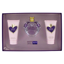 Princess by Vera Wang for Women Gift Set -- 1.7 oz Eau De Toilette Spray + 2.5 oz  Body Lotion + 2.5 oz Body Polish + .13 Mini EDP