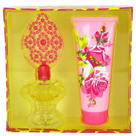 Betsey Johnson by Betsey Johnson for Women Gift Set -- 3.4 oz Eau De Parfum Spray + 6.7 oz Body Lotion at PalmBeach Jewelry