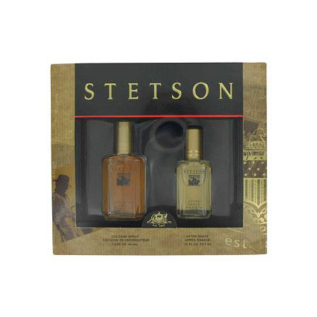 STETSON by Coty for Men Gift Set -- 1.5 oz Cologne + .75 oz After Shave at PalmBeach Jewelry