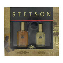 STETSON by Coty for Men Gift Set -- 1.5 oz Cologne + .75 oz After Shave