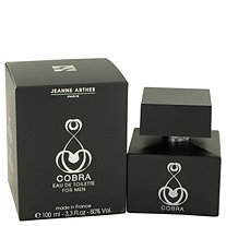 Cobra by Jeanne Arthes for Men Eau De Toilette Spray 3.3 oz