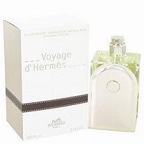 Voyage D'Hermes by Hermes for Men Eau De Toilette Spray Refillable 3.3 oz