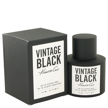 Kenneth Cole Vintage Black by Kenneth Cole for Men Eau De Toilette Spray 3.4 oz at PalmBeach Jewelry