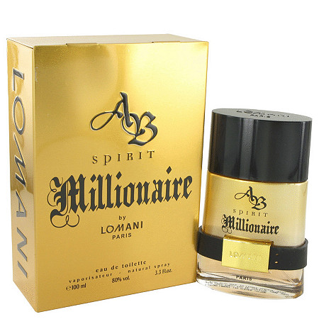 Spirit Millionaire by Lomani for Men Eau De Toilette Spray 3.3 oz at PalmBeach Jewelry