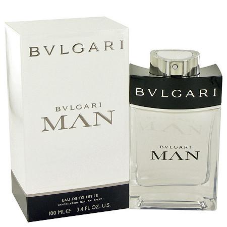 Bvlgari Man by Bvlgari for Men Eau De Toilette Spray 3.4 oz at PalmBeach Jewelry