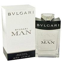 Bvlgari Man by Bvlgari for Men Eau De Toilette Spray 3.4 oz