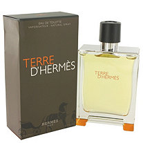Terre D'Hermes by Hermes for Men Eau De Toilette Spray 6.7 oz