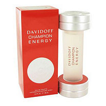 Davidoff Champion Energy by Davidoff for Men Eau De Toilette Spray 3 oz