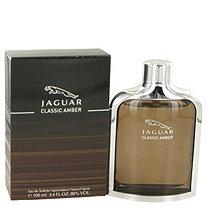 Jaguar Classic Amber by Jaguar for Men Eau De Toilette Spray 3.4 oz