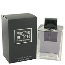 Seduction In Black by Antonio Banderas for Men Eau De Toilette Spray 6.8 oz