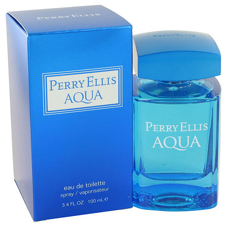 Perry Ellis Aqua by Perry Ellis for Men Eau De Toilette Spray 3.4 oz at PalmBeach Jewelry