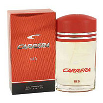 Carrera Red by Vapro International for Men Eau De Toilette Spray 3.4 oz
