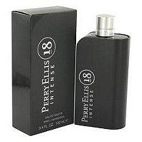 Perry Ellis 18 Intense by Perry Ellis for Men Eau De Toilette Spray 3.4 oz