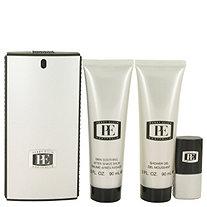 PORTFOLIO by Perry Ellis for Men Gift Set -- 3.3 oz Eau De Toilette Spray + 3.0 oz After Shave Balm + 3.0 Shower Gel + .25 oz Mini EDT