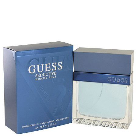 Guess Seductive Homme Blue by Guess for Men Eau De Toilette Spray 3.4 oz at PalmBeach Jewelry