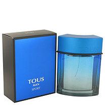 Tous Man Sport by Tous for Men Eau De Toilette Spray 3.4 oz