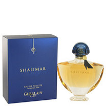 SHALIMAR by Guerlain for Women Eau De Toilette Spray 3 oz