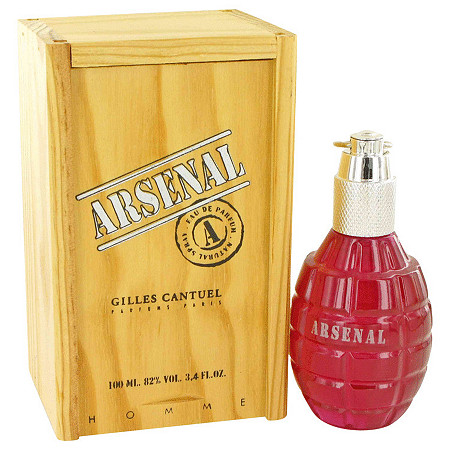 Arsenal Dark Red by Gilles Cantuel for Men Eau De Parfum Spray 3.4 oz at PalmBeach Jewelry