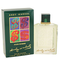 Andy Warhol by Andy Warhol for Men Eau De Toilette Spray 3.4 oz