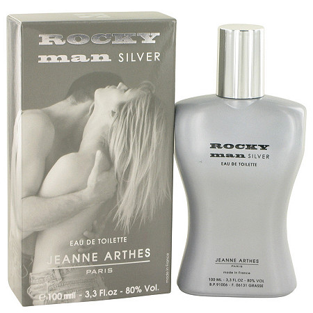 Rocky Man Silver by Jeanne Arthes for Men Eau De Toilette Spray 3.3 oz at PalmBeach Jewelry