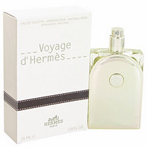 Voyage D'Hermes by Hermes for Men Eau De Toilette Spray Refillable 1.18 oz