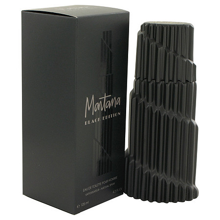 Montana Black Edition by Montana for Men Eau De Toilette Spray 4.2 oz at PalmBeach Jewelry