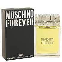 Moschino Forever by Moschino for Men Eau De Toilette Spray 3.4 oz