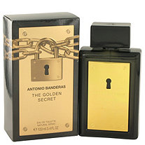 The Golden Secret by Antonio Banderas for Men Eau De Toilette Spray 3.4 oz