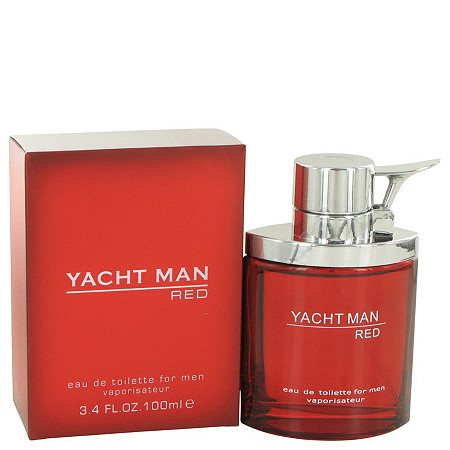 Yacht Man Red by Myrurgia for Men 3.4 oz. Eau De Toilette Spray at PalmBeach Jewelry