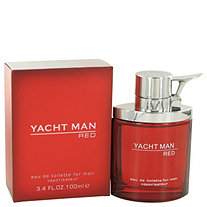 Yacht Man Red by Myrurgia for Men 3.4 oz. Eau De Toilette Spray