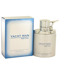 Yacht Man Metal by Myrurgia for Men 3.4 oz. Eau De Toilette Spray