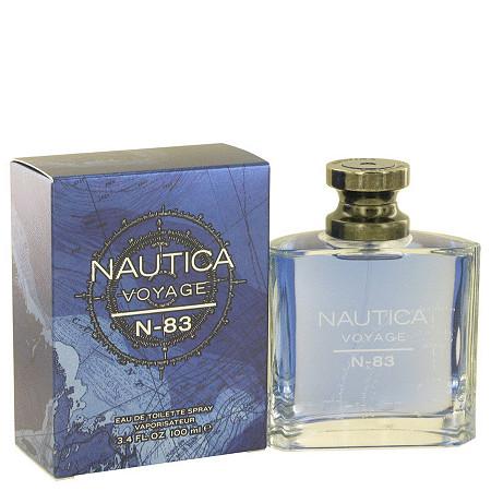 Nautica Voyage N-83 by Nautica for Men Eau De Toilette Spray 3.4 oz at PalmBeach Jewelry