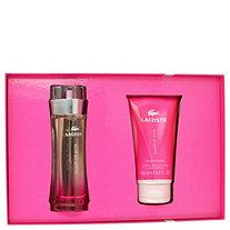 Touch of Pink by Lacoste for Women Gift Set -- 3 oz Eau De Toilette Spray + 5 oz Body Lotion
