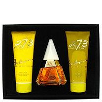273 by Fred Hayman for Women Gift Set -- 2.5 oz Eau De Purfum Spray + 6.7 oz Body Lotion + 6.7 oz Shower Gel + Mirror