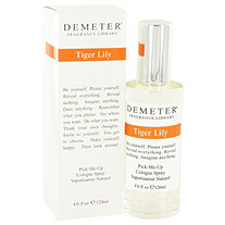 Demeter by Demeter for Women Tiger Lily Cologne Spray 4 oz