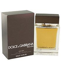 The One by Dolce & Gabbana for Men Eau De Toilette Spray 3.4 oz
