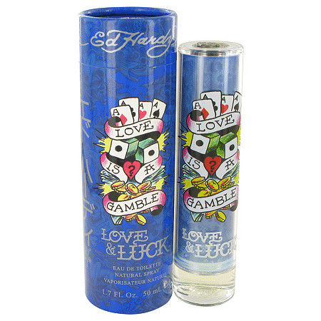 Love & Luck by Christian Audigier for Men Eau De Toilette Spray 1.7 oz at PalmBeach Jewelry