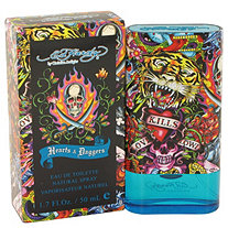 Ed Hardy Hearts & Daggers by Christian Audigier for Men Eau De Toilette Spray 1.7 oz