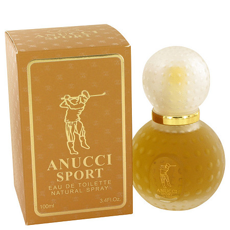 Anucci Sport by Anucci for Men Eau De Toilette Spray 3.4 oz at PalmBeach Jewelry
