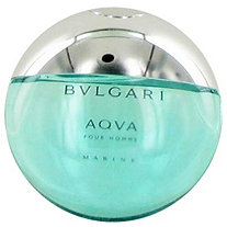 Bvlgari Aqua Marine by Bvlgari for Men Eau De Toilette Spray (Tester) 3.4 oz
