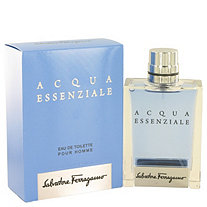 Acqua Essenziale by Salvatore Ferragamo for Men Eau De Toilette Spray 3.4 oz