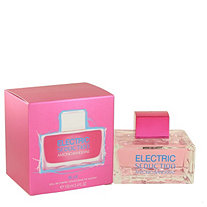 Electric Seduction Blue by Antonio Banderas for Women Eau De Toilette Spray 3.4 oz