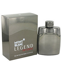 Montblanc Legend Intense by Mont Blanc for Men Eau De Toilette Spray 3.4 oz