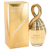 Bebe Wishes and Dreams by Bebe for Women Eau De Parfum Spray 3.4 oz