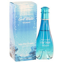 Cool Water Into The Ocean by Davidoff for Women Eau De Toilette Spray 3.4 oz