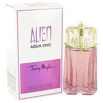 Alien Aqua Chic by Thierry Mugler for Women Light Eau De Toilette Spray 2 oz