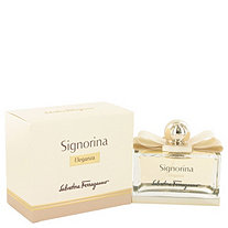 Signorina Eleganza by Salvatore Ferragamo for Women Eau De Parfum Spray 3.4 oz