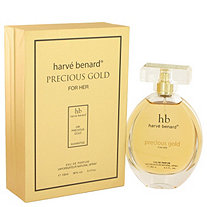 Precious Gold by Harve Benard for Women Eau De Parfum Spray 3.4 oz