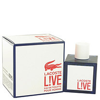 Lacoste Live by Lacoste for Men Eau De Toilette Spray 3.4 oz